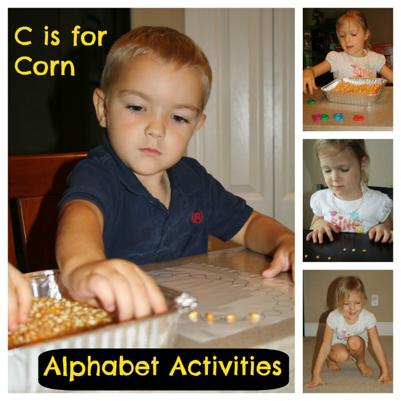 C is for Corn Reading Activities