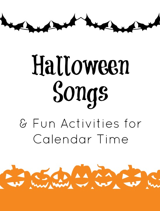 Halloween Songs and Activities for Calendar Time