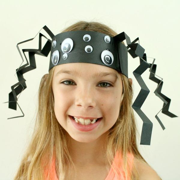 Headband Spider Halloween Craft