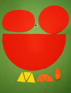 Shapes Craft for Farm Theme
