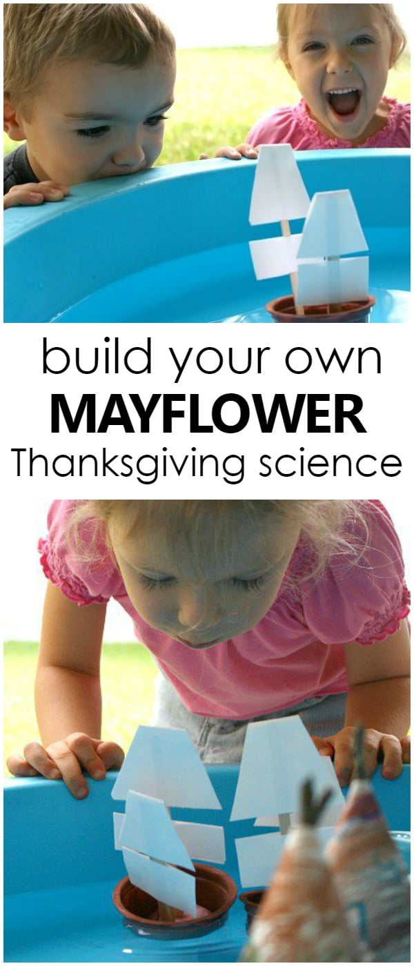 Build Your Own Mayflower Thanksgiving Science STEM Activity