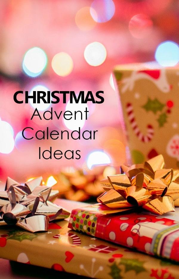Easy Christmas Advent Calendar Activities #Christmas #advent #adventcalendar