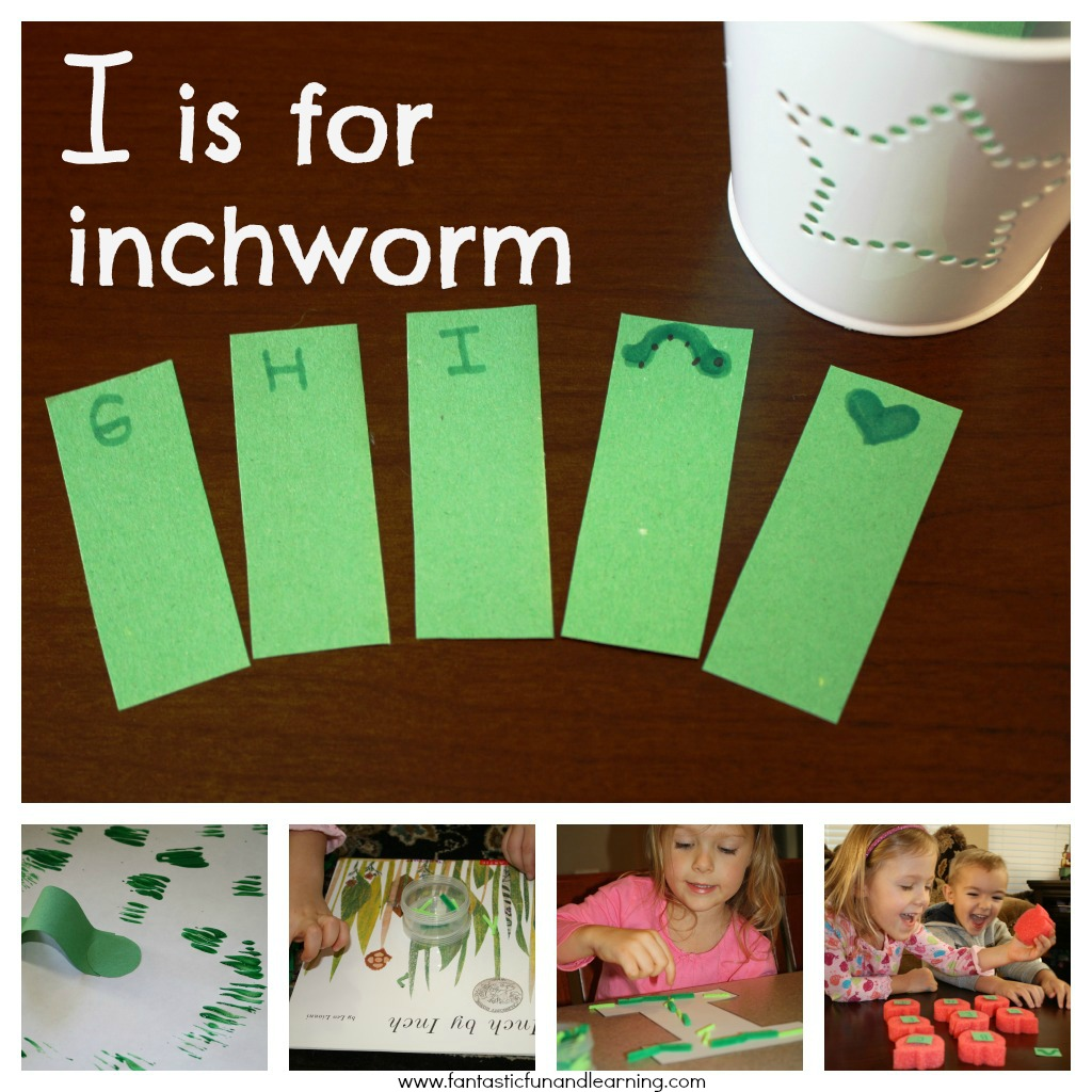 letter i activities inchworms