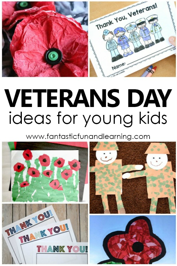 Teaching Kids About Veterans Day-Veterans Day Activities, Teaching Resources, Free Printables, and Veterans Day Craft Ideas. Remembrance Day #veteransday #preschool #kindergarten