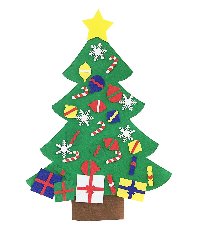 Pre-Made Felt Christmas Tree
