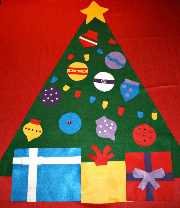 No-Sew Felt ChristmasTree