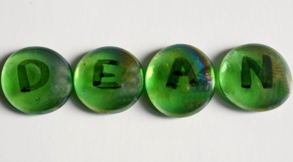 Glass Beads Name Game