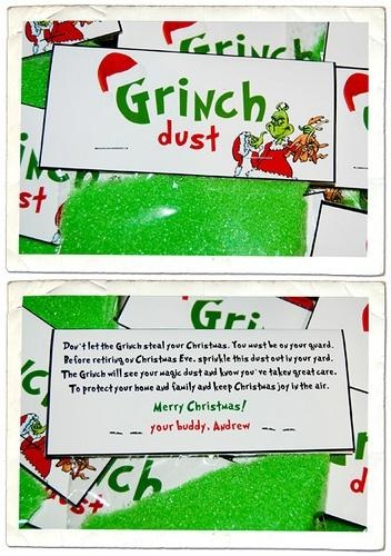 Make some Grinch Goo for a fun and messy sensory play activity.