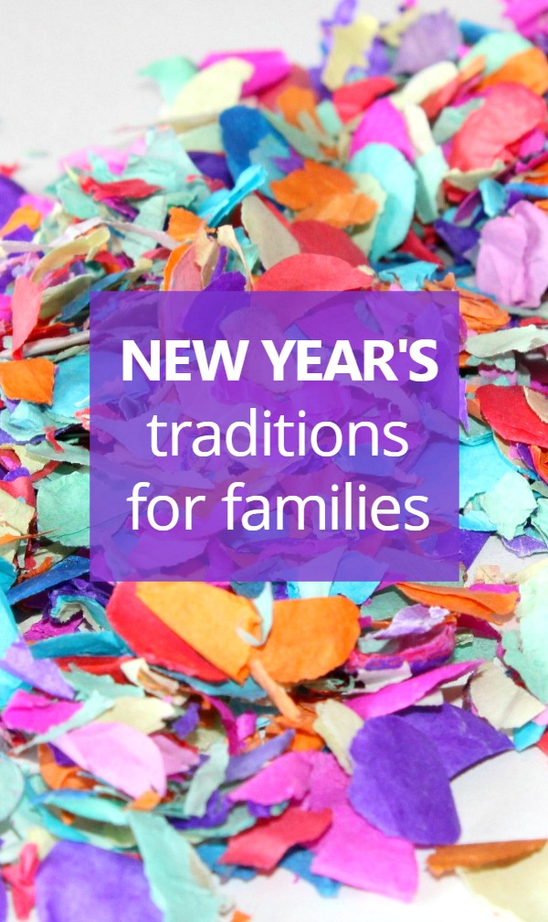 New Year's Family Traditions-13 Fun activities to celebrate New Year's with young kids
