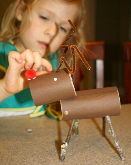 Preschool Reindeer Activities