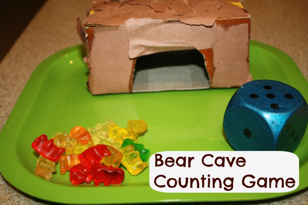 Bear Cave Counting Game