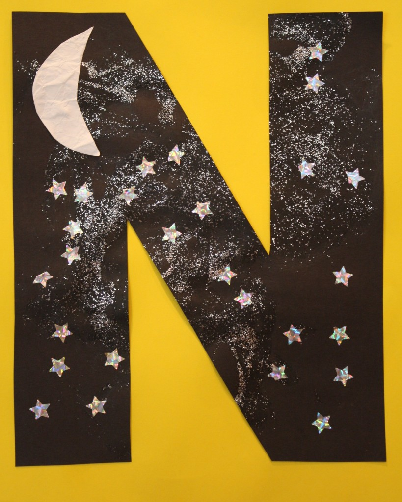 N is for Night Sky