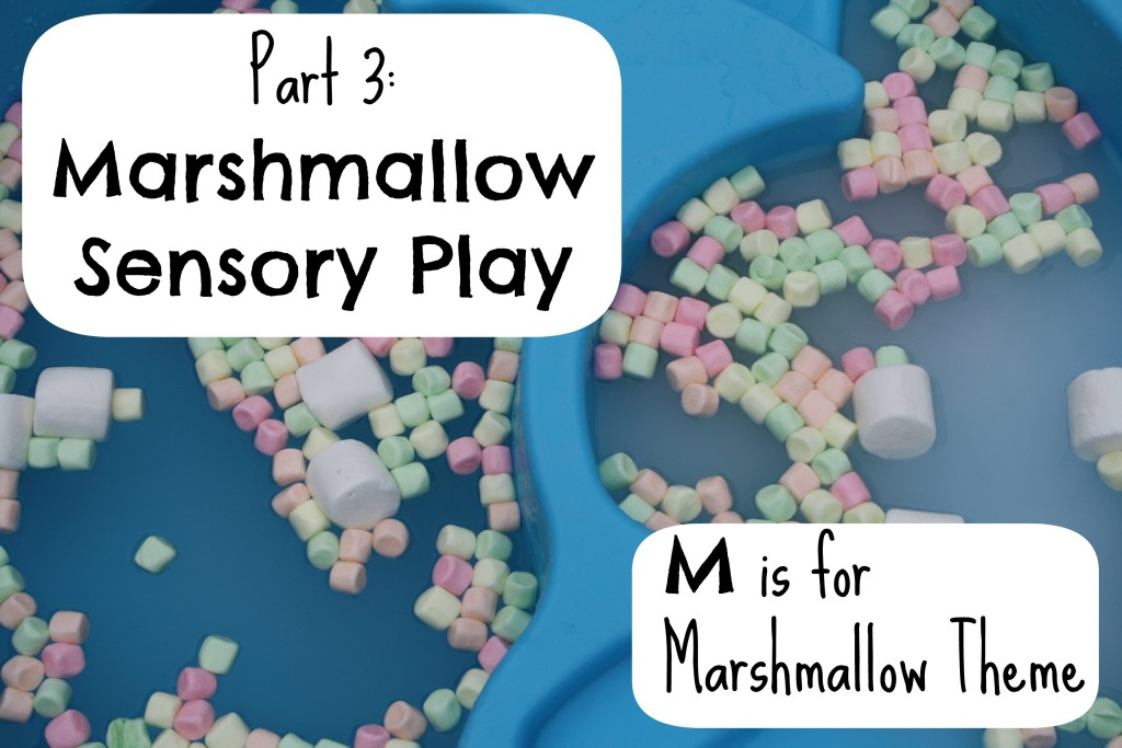 Marshmallow Sensory Play