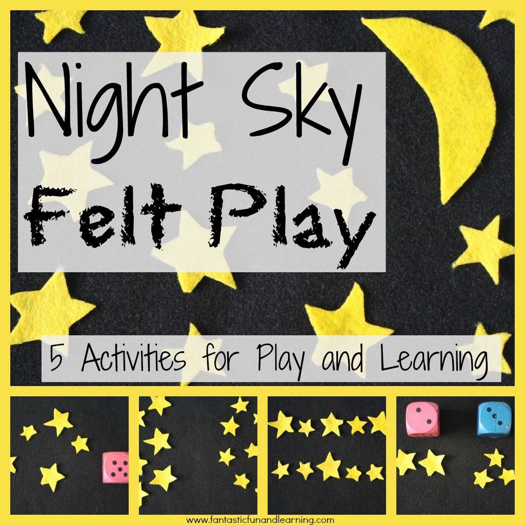Night Sky Felt Play