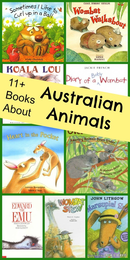 Books About Australian Animals