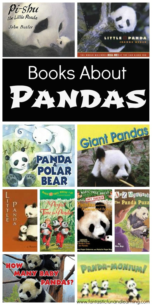 Books About Pandas