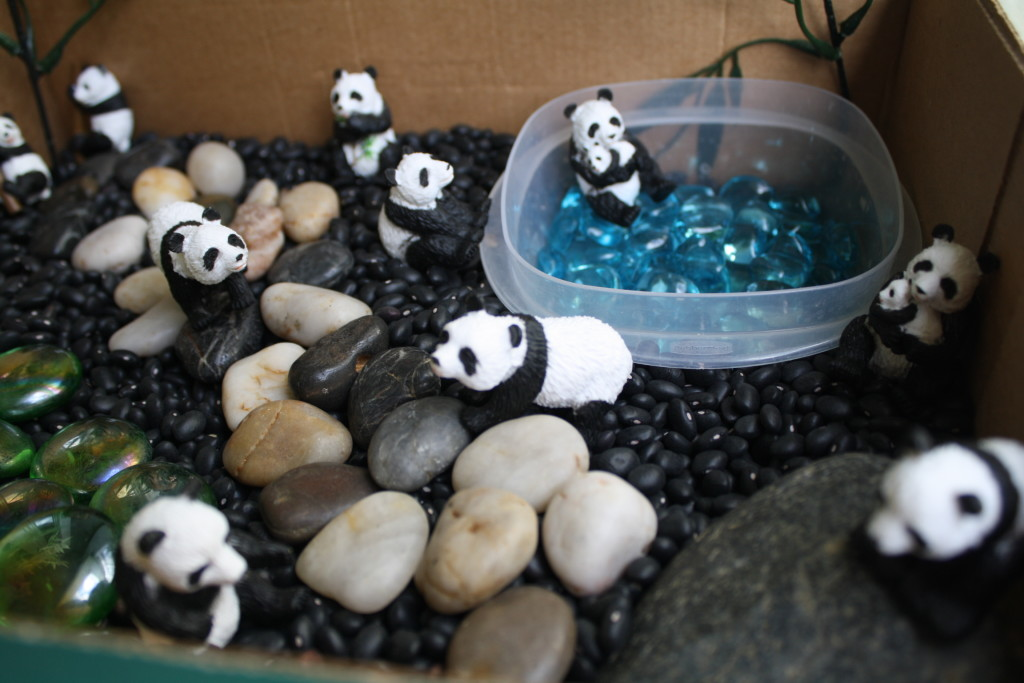 Panda Small World Play {Fantastic Fun and Learning}