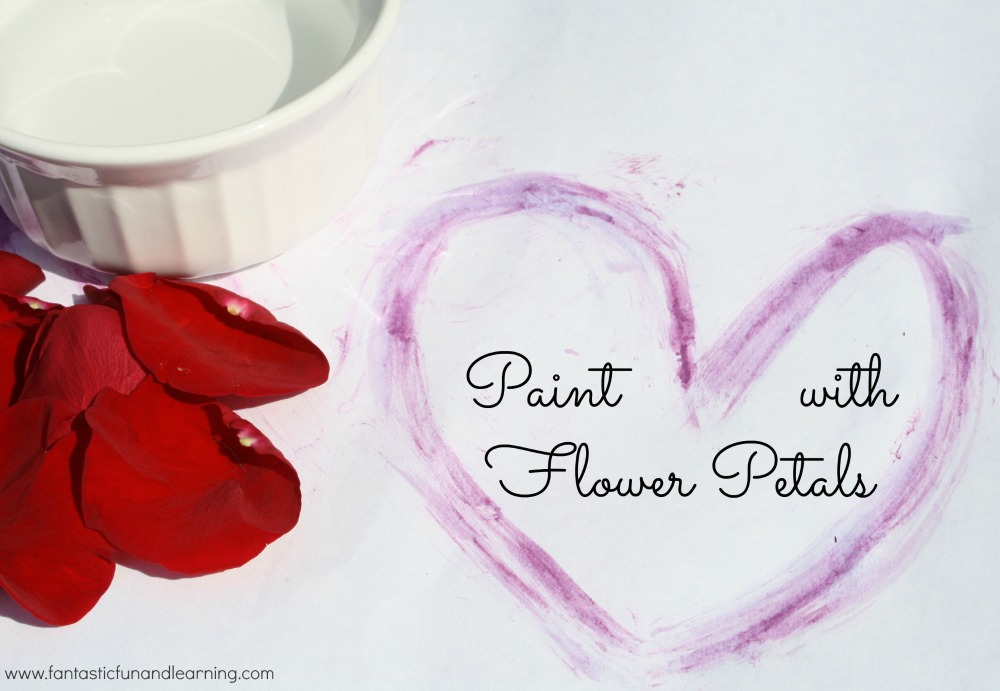 Paint with Flower Petals