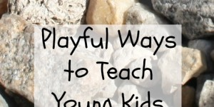 Playful Ways to Teach Young Kids About Rocks