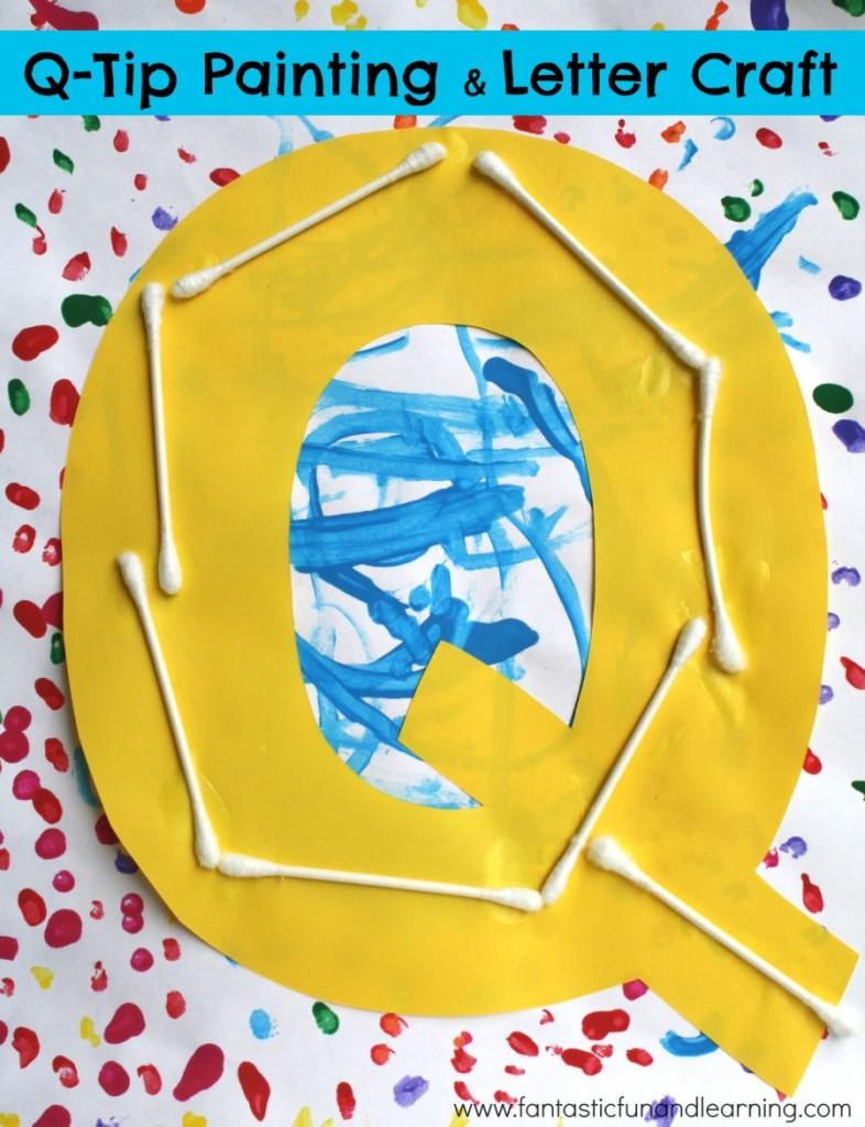 q tip painting q craft