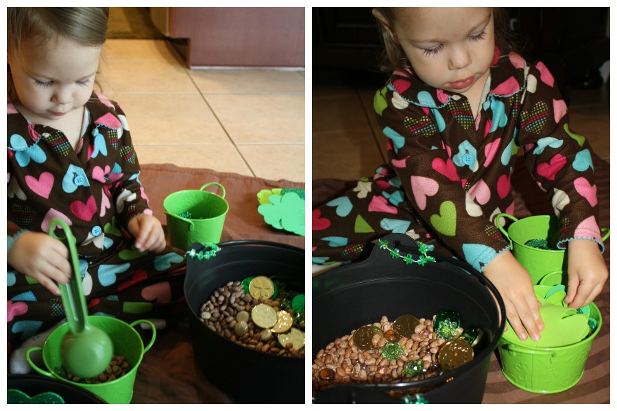 St. Patrick's Day Toddler Play
