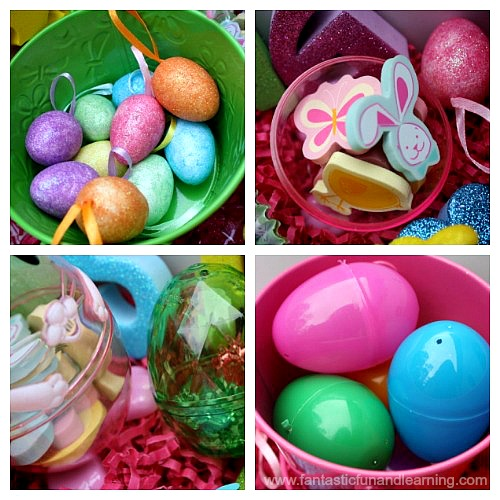 Easter Sensory Bin Items