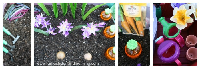 Garden Bin for Kids