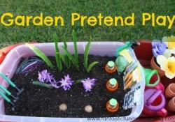 Gardening Sensory Bins