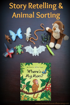 Julia Donaldson's Where's My Mom? Book Activity