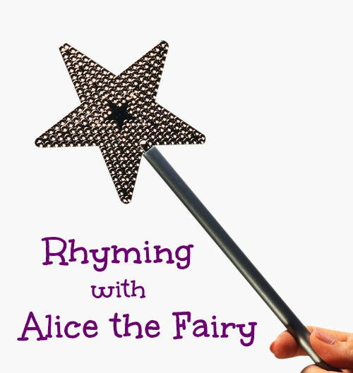 Rhyming with Alice the Fairy