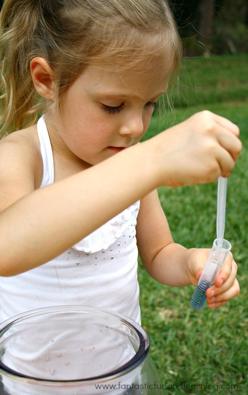 Fine Motor and Science Play