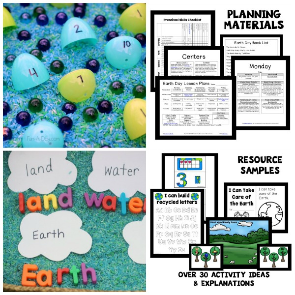 Earth Day Leson Plans for Preschool