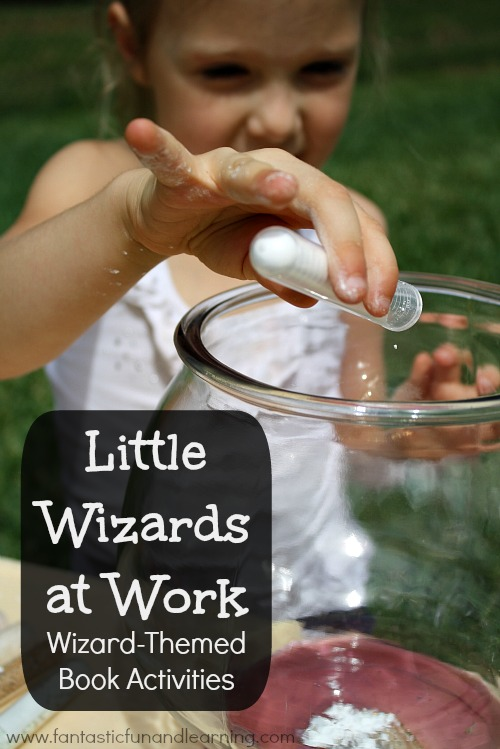 Little Wizards at Work