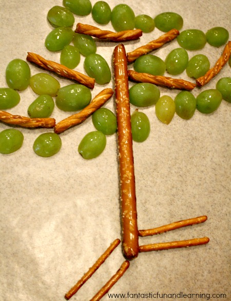 Tree Snack Made by Kids