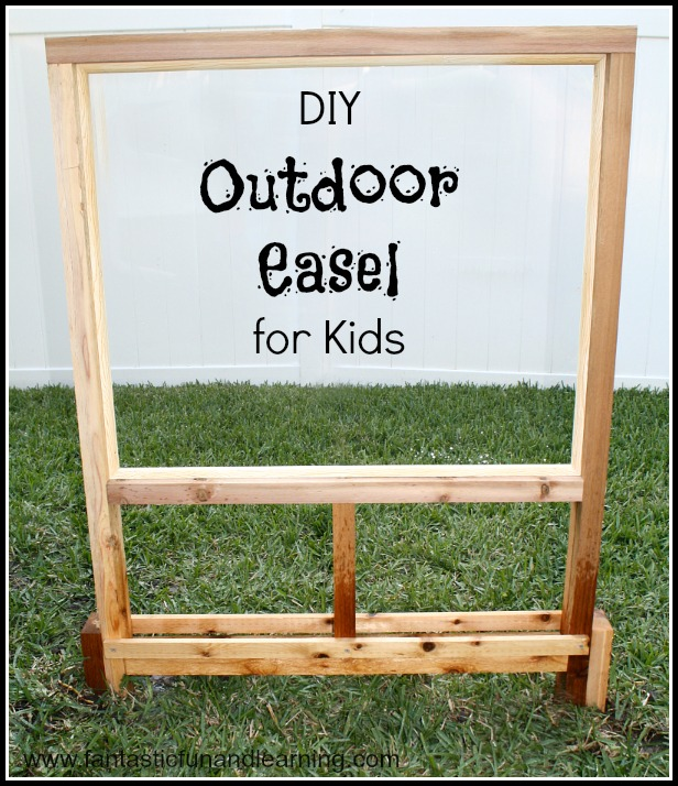 How To Build A Child's Easel