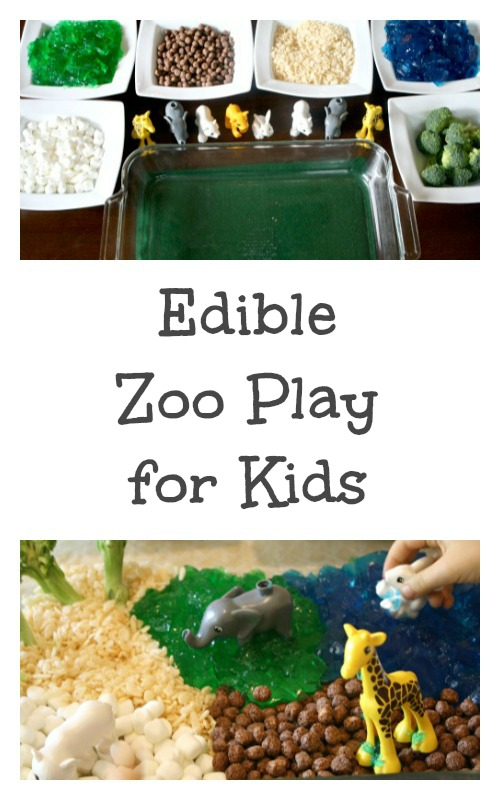 Edible Zoo Play for Kids