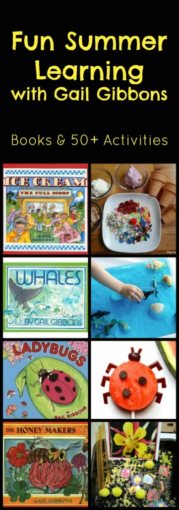Gail Gibbons Books and Activity Ideas for Summer