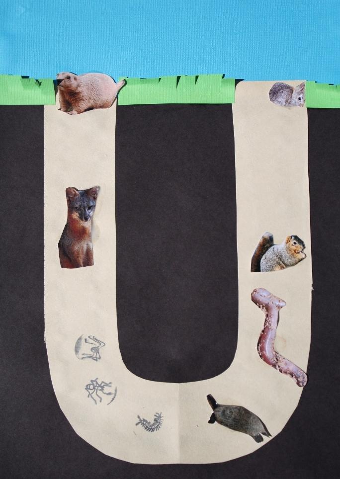 Letter U Craft