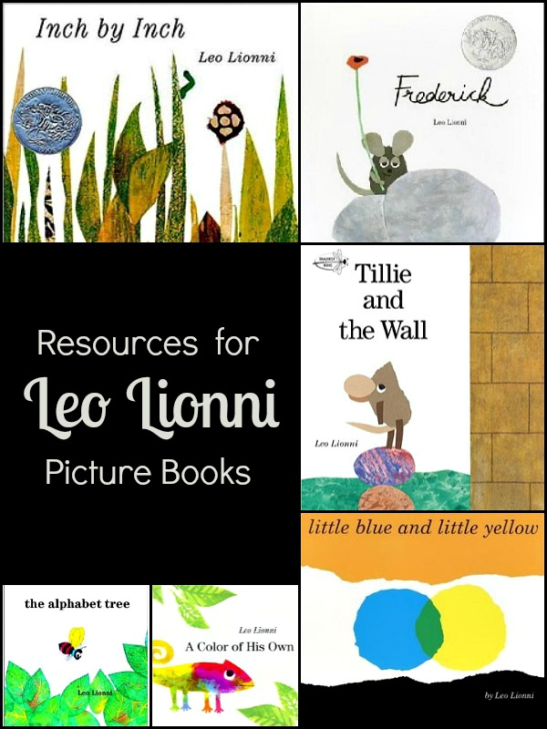 Resources And Activities For Leo Lionni Books