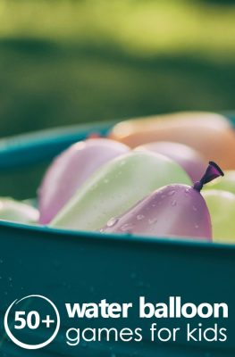 Over 50 fun water balloon games kids will LOVE