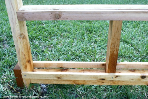 Paint Tray for Outdoor Easel