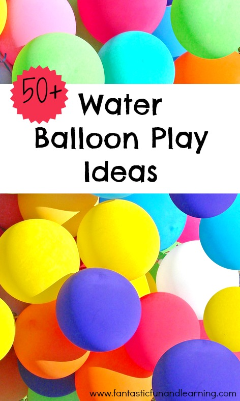 Water balloon games for kids for Fun things to do with water balloons