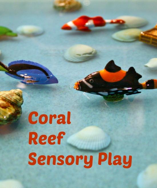 Coral Reef Sensory Play