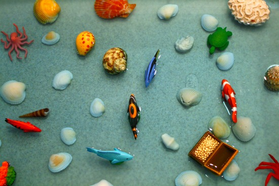 Coral Reef Sensory Play