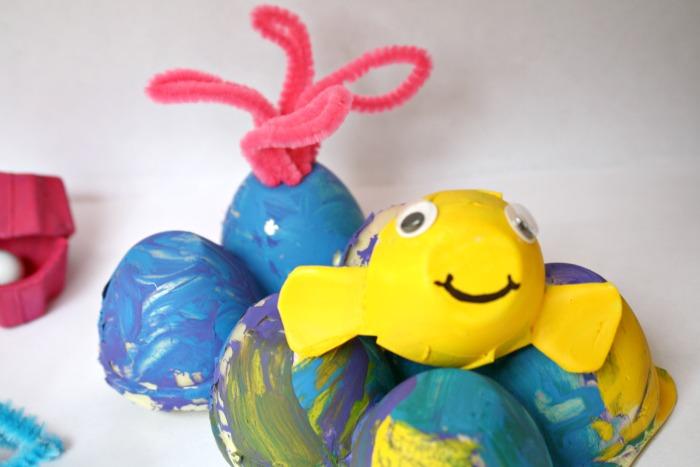 Egg Carton Coral Reef Craft