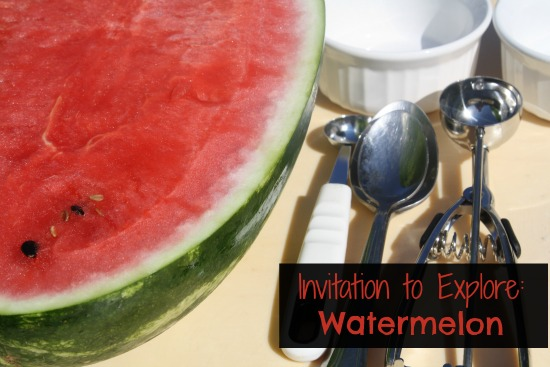 Invitation to explore watermelon