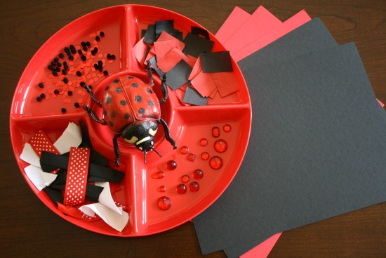 Ladybug Art Activity