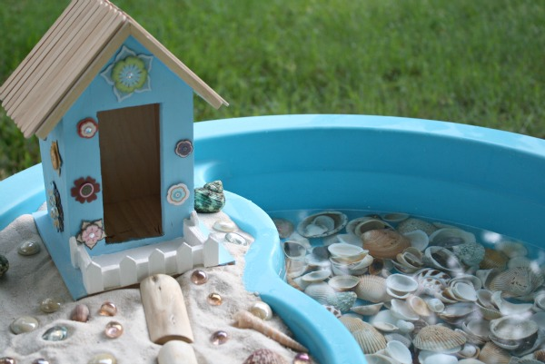 Preschool Ocean Theme Sensory Play