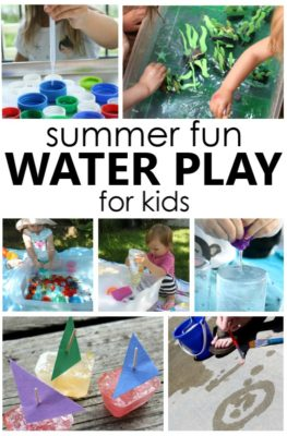 Summer Fun Water Play Activities for Toddlers and Preschoolers