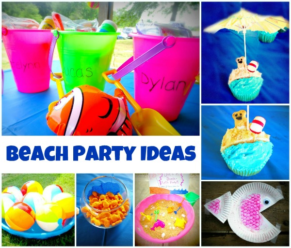 beach party craft ideas fish theme activities for fantastic learning 3429